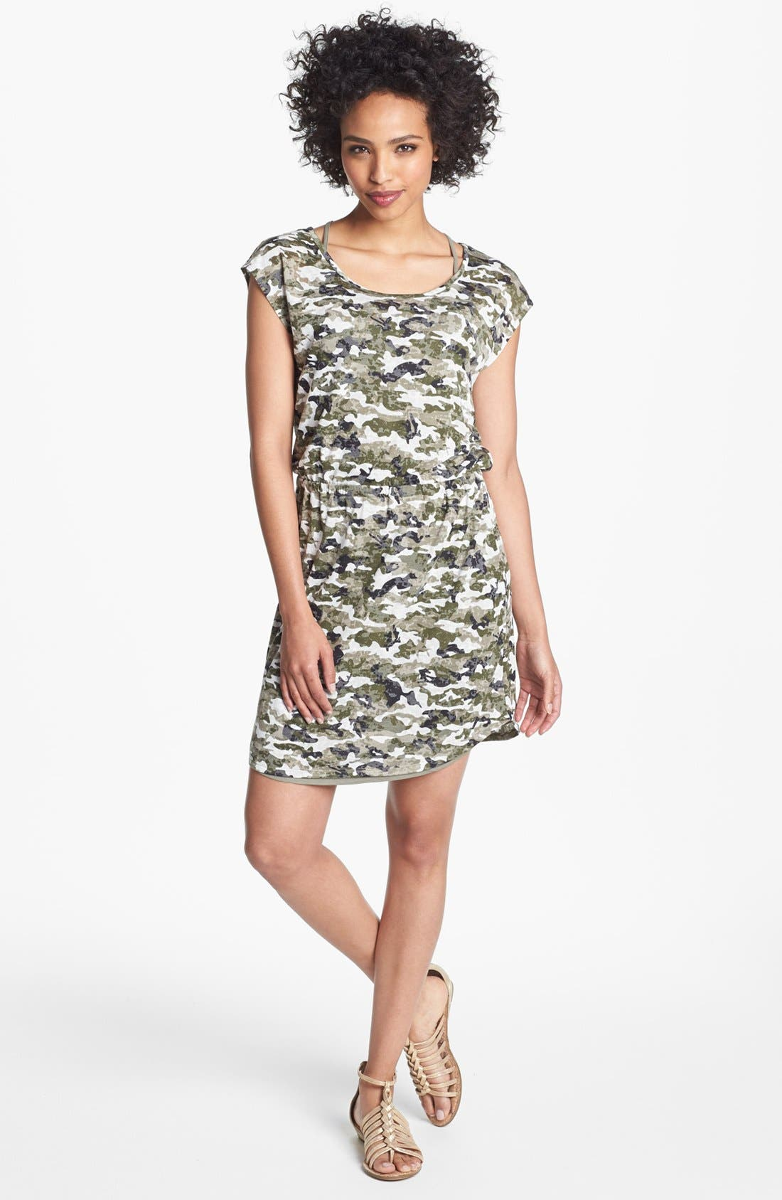 Alternate Image 1 Selected - Two by Vince Camuto Camo Print Dress