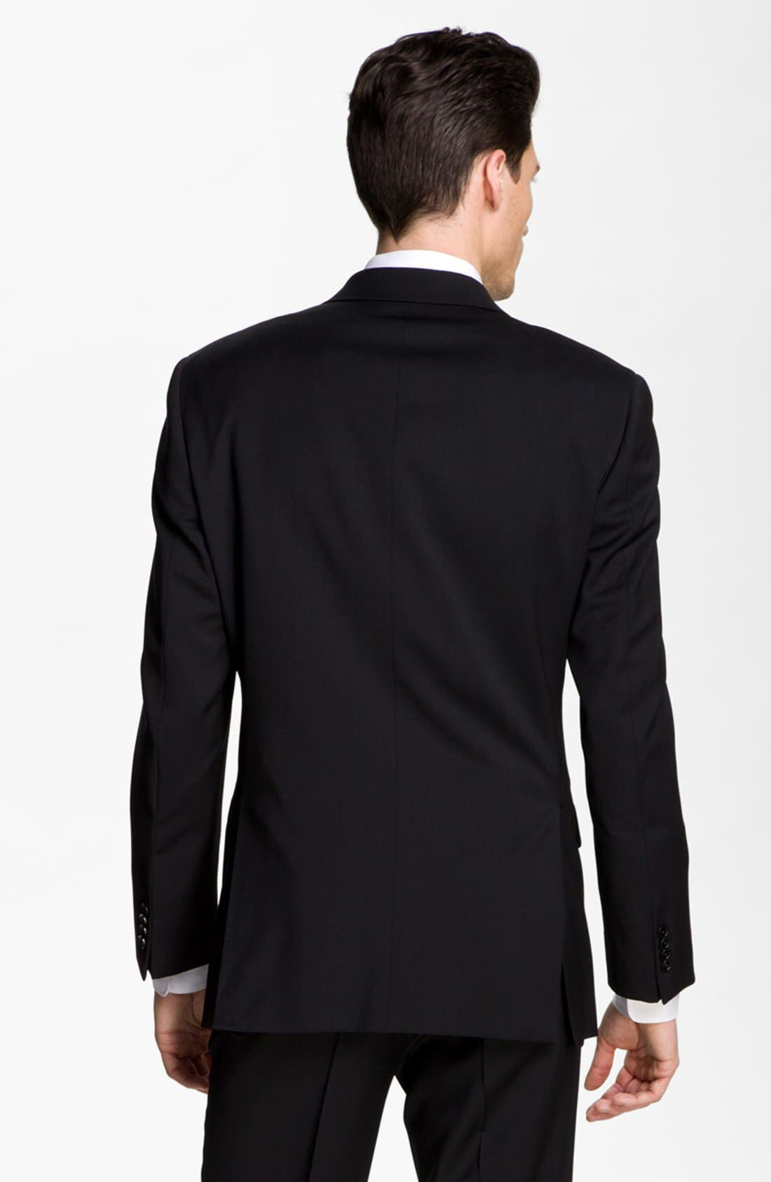 Alternate Image 3  - John Varvatos Star USA Trim Fit Wool Blend Sportcoat