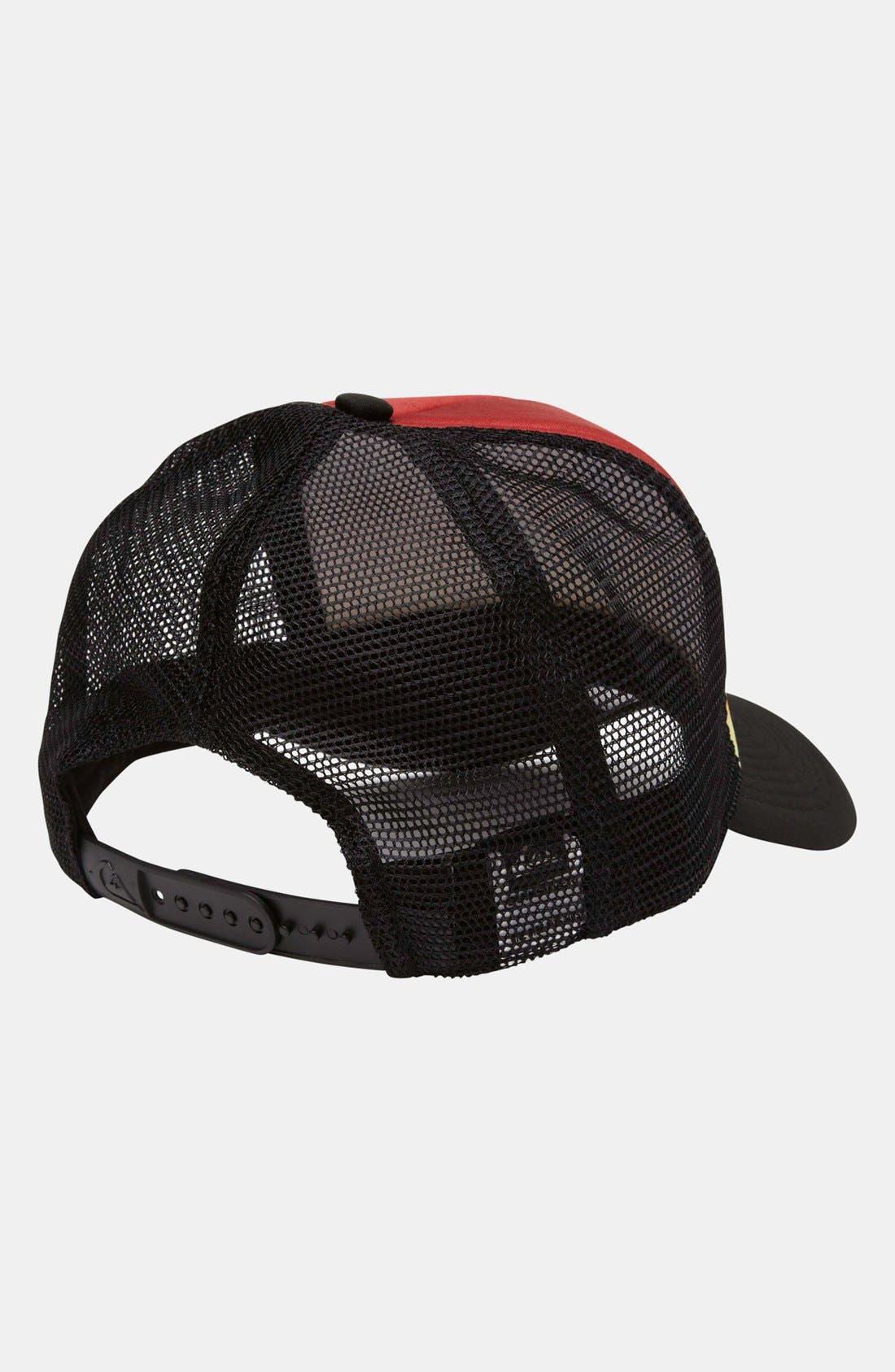 Alternate Image 4  - Quiksilver 'Boards B' Trucker Hat (Boys)