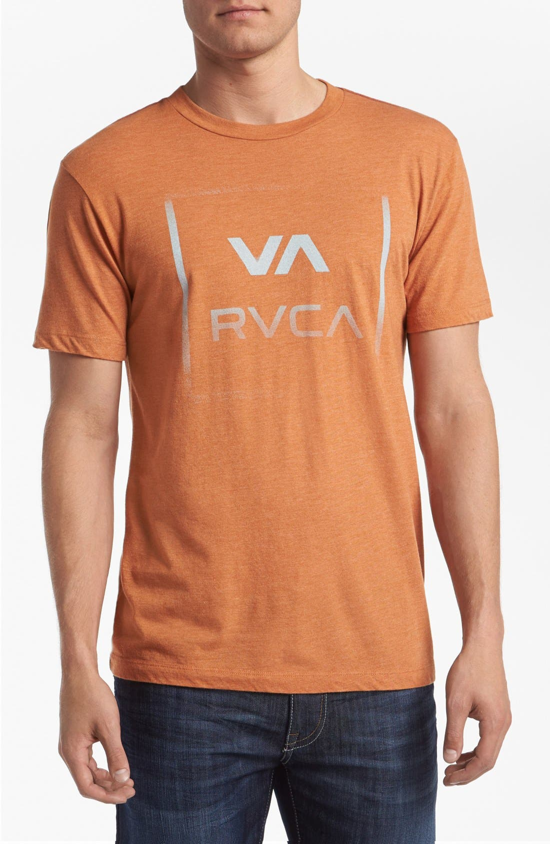 Alternate Image 1 Selected - RVCA 'VA All The Way' T-Shirt