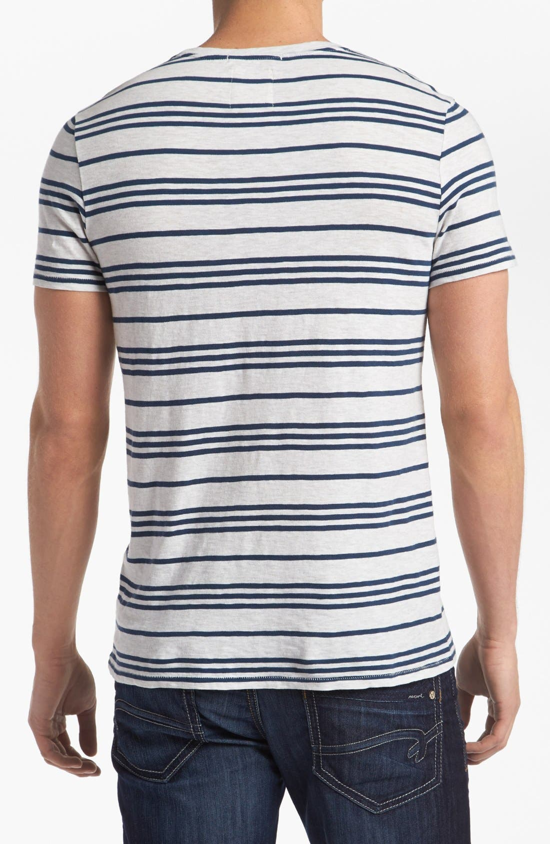 Alternate Image 2  - life/after/denim 'Canal' Stripe T-Shirt