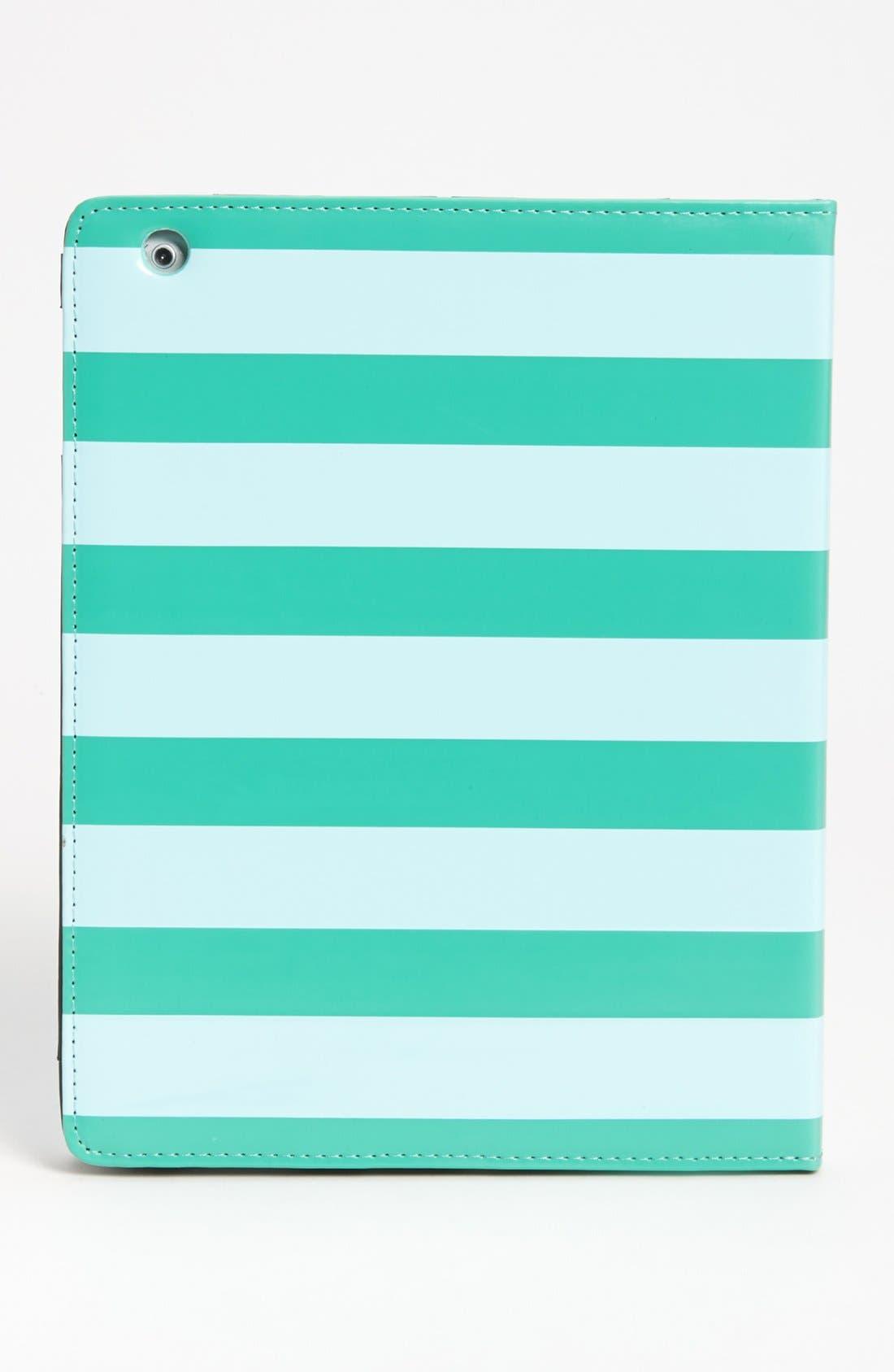 Alternate Image 5  - kate spade new york 'petula stripe' iPad 2 & 3 folio