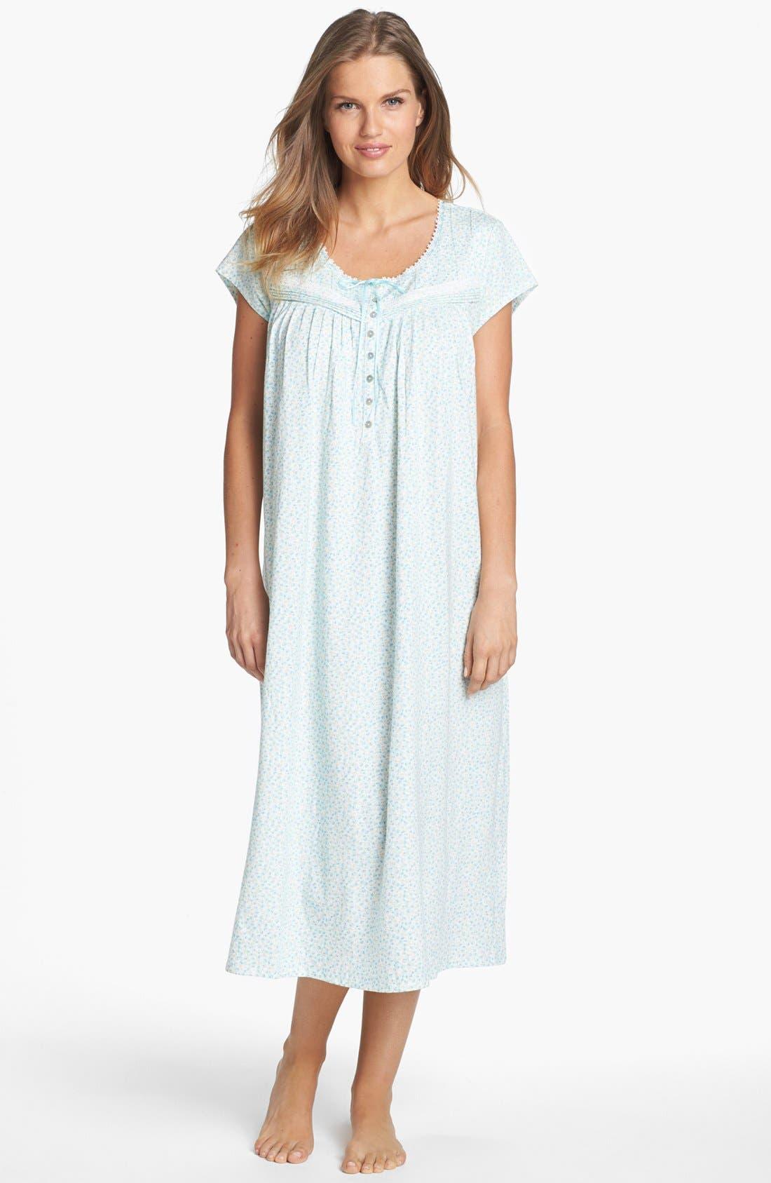 Alternate Image 1 Selected - Eileen West 'Wildflower Bluffs' Nightgown