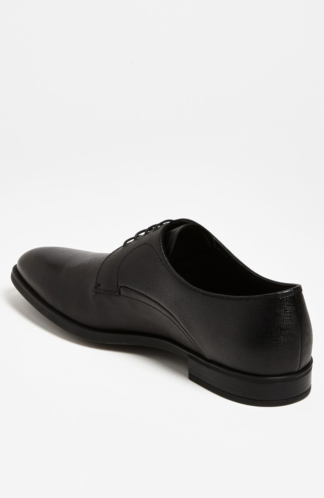 Alternate Image 2  - Prada Plain Toe Derby (Men)