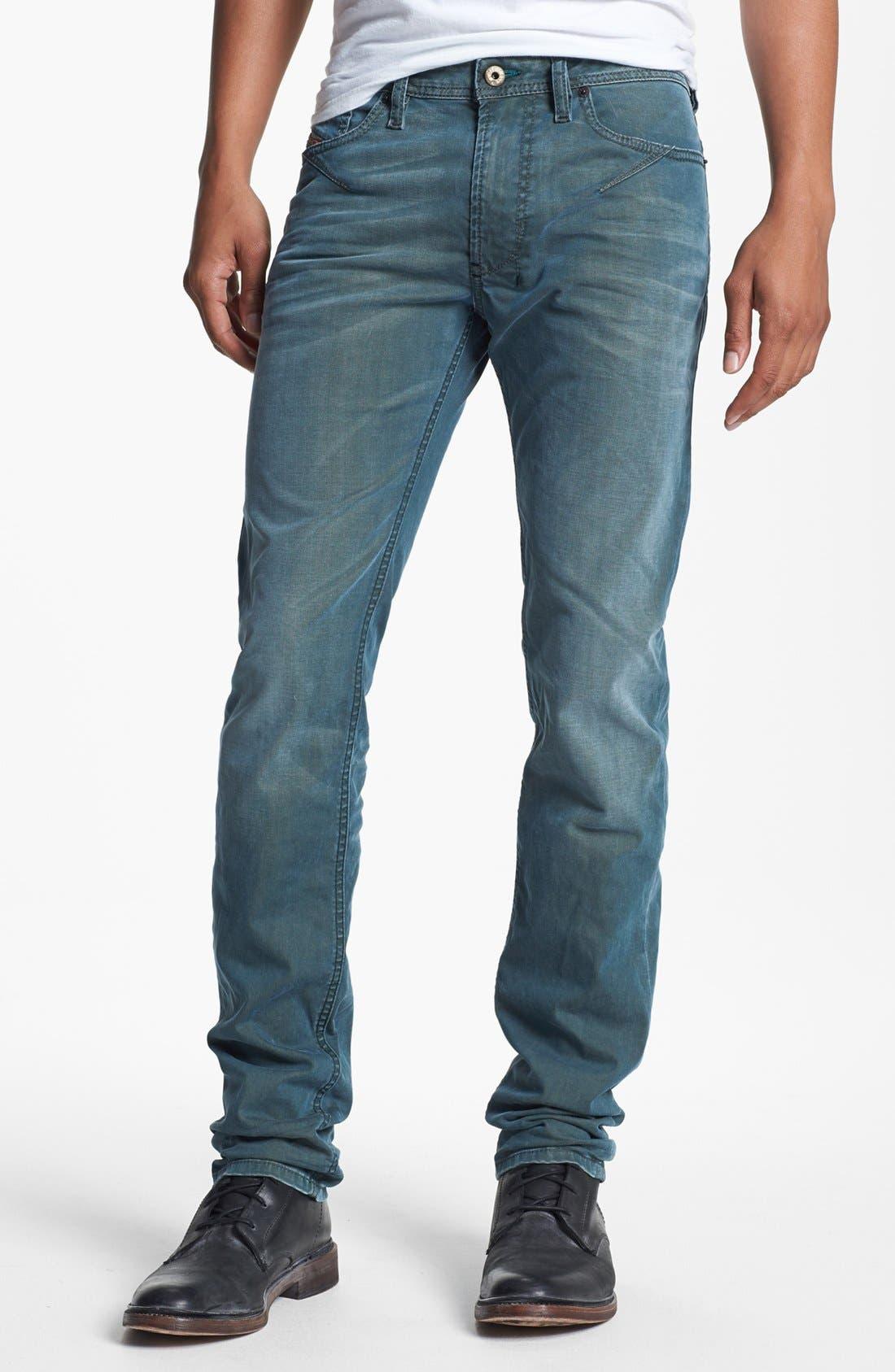 Alternate Image 2  - DIESEL® 'Shioner' Skinny Fit Jeans (0603B)