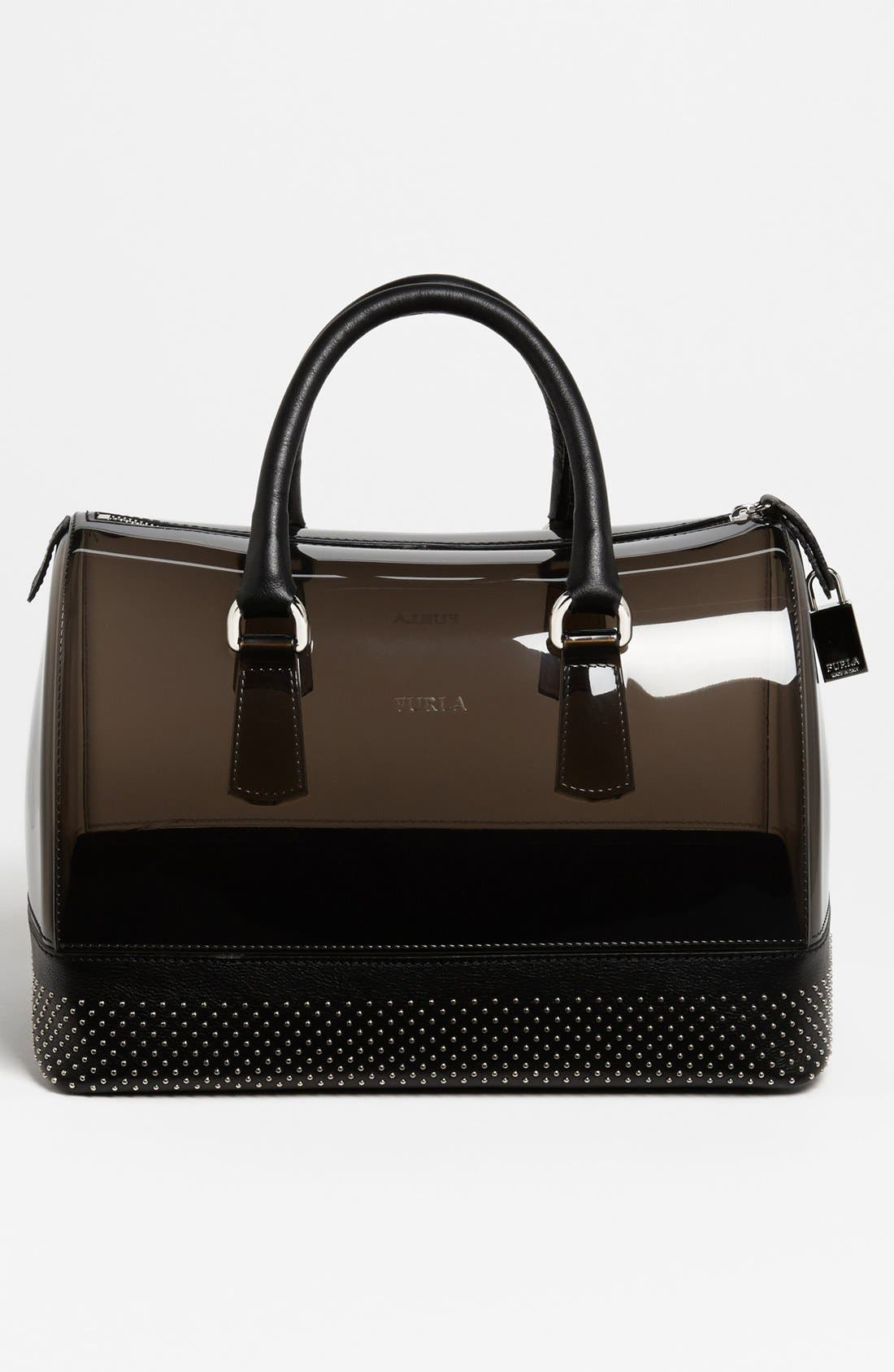 Alternate Image 4  - Furla 'Candy - Dot' Rubber Satchel