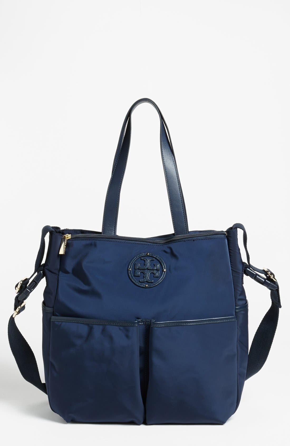 Alternate Image 1 Selected - Tory Burch Stacked Logo Baby Bag