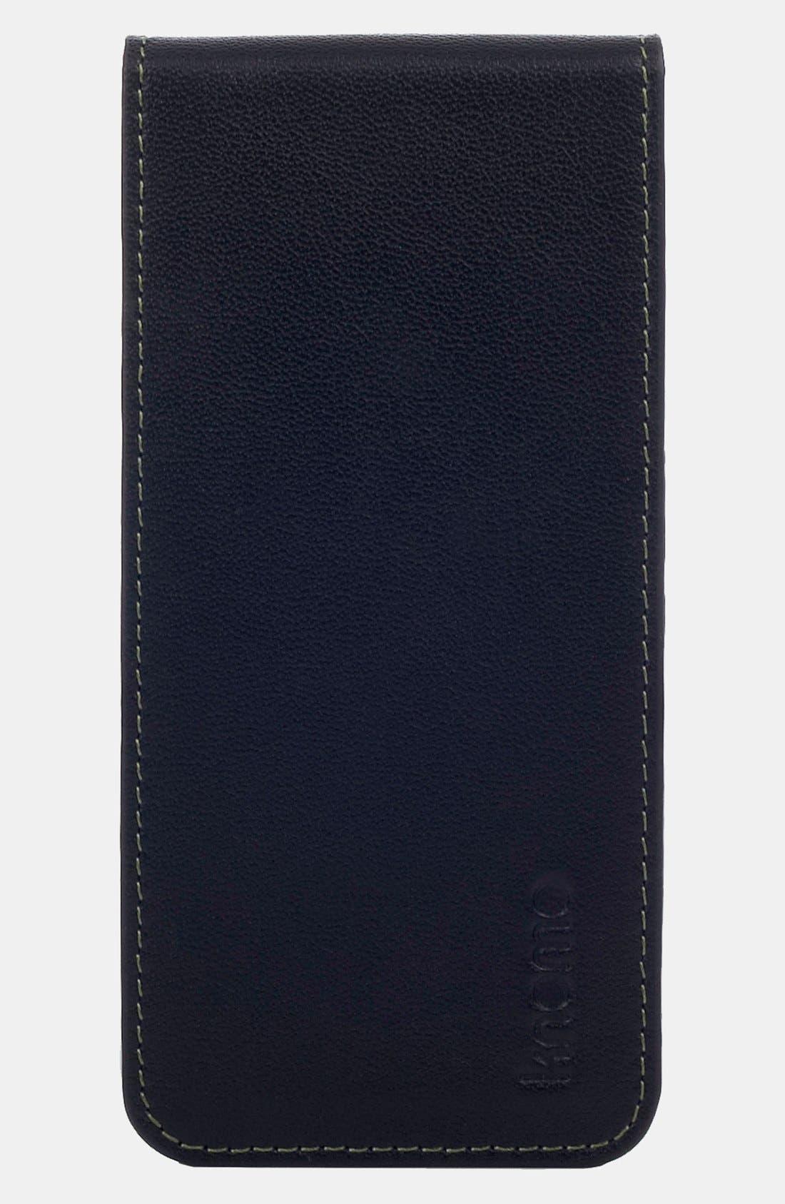 Alternate Image 1 Selected - KNOMO London iPhone 5 Flip Case