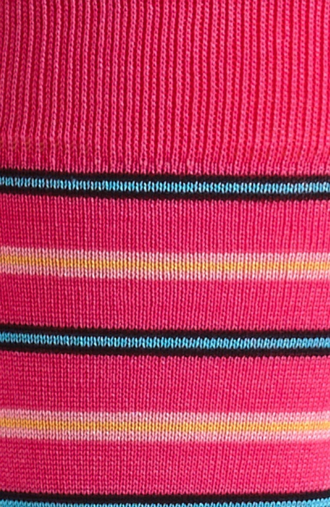 Alternate Image 2  - Bugatchi Triple Stripe Socks