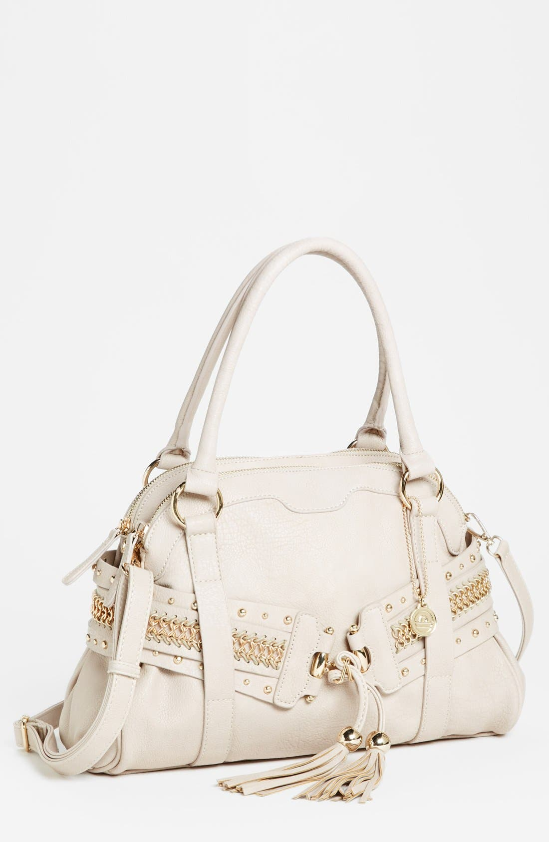 Alternate Image 1 Selected - Big Buddha 'Eryn' Faux Leather Satchel