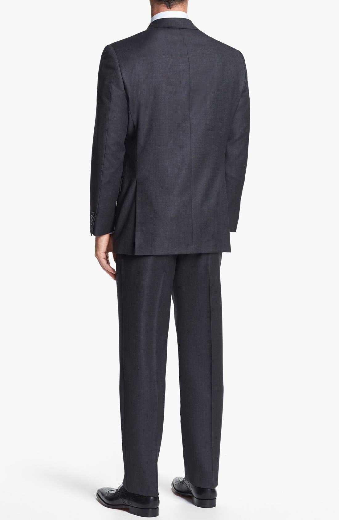 Alternate Image 3  - Hart Schaffner Marx Classic Fit Wool Suit