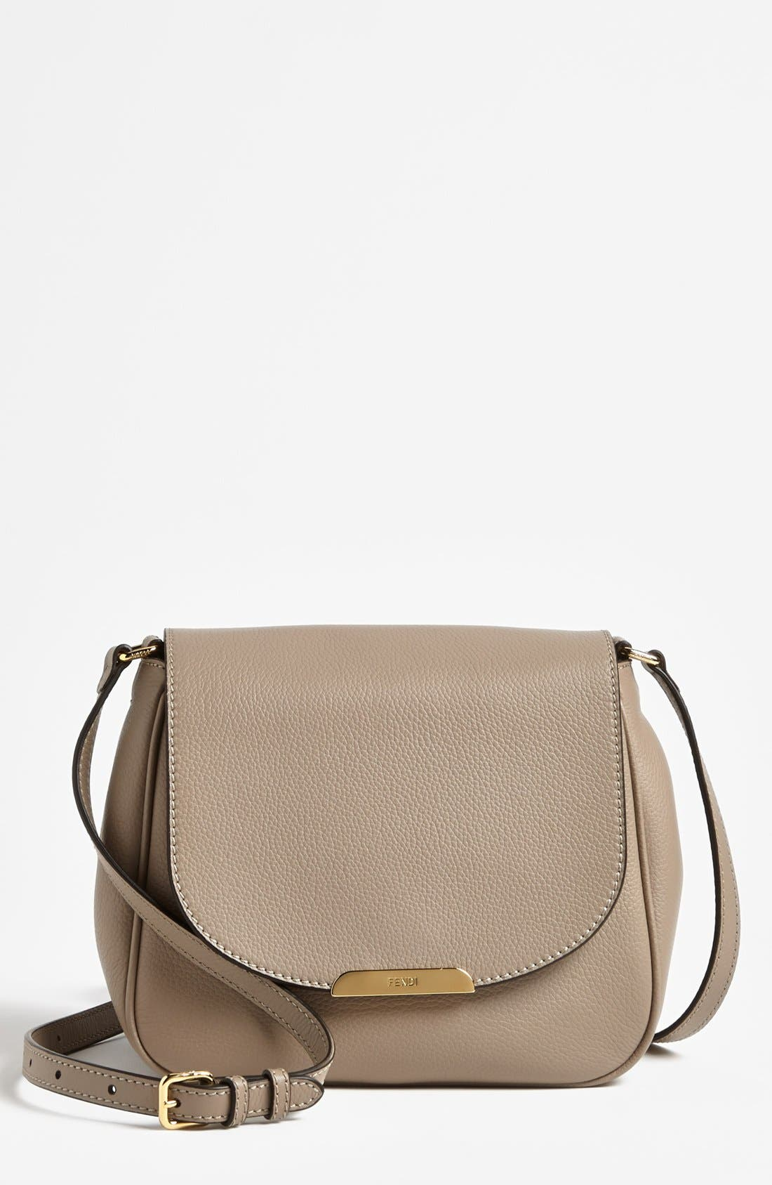 Alternate Image 1 Selected - Fendi Leather Crossbody Bag