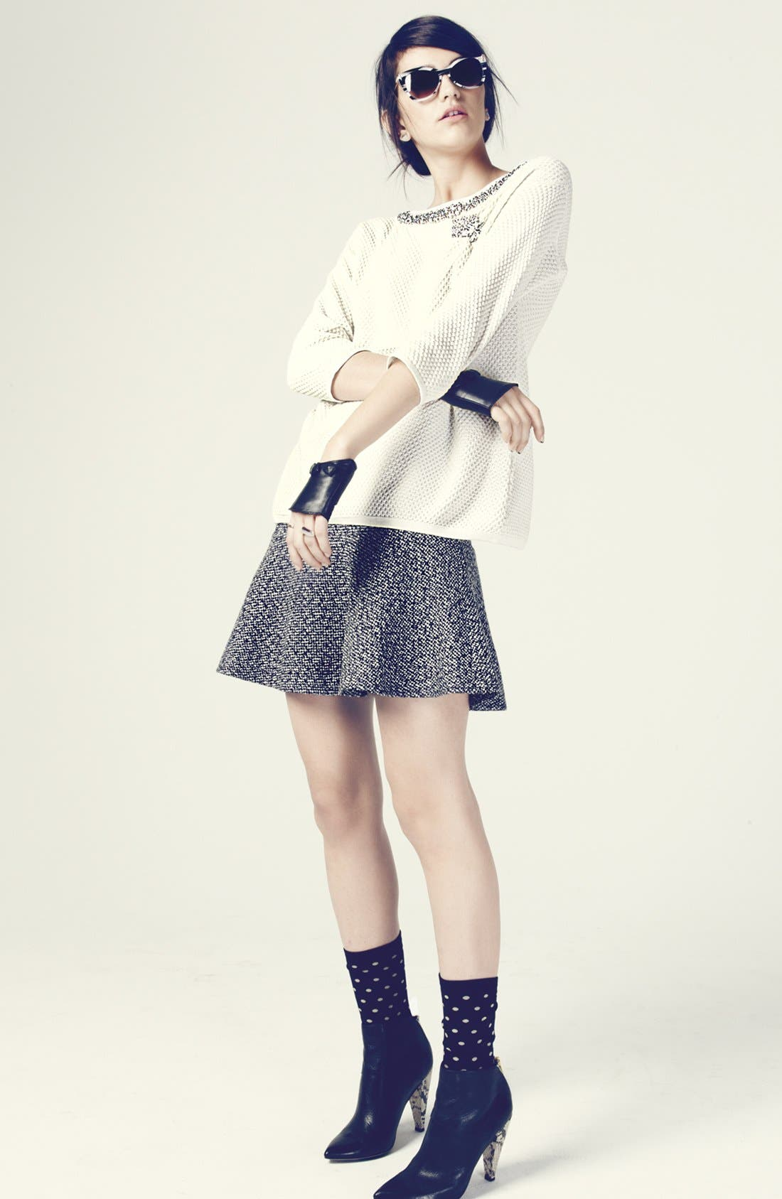 Alternate Image 4  - Hinge® Tweed Skirt