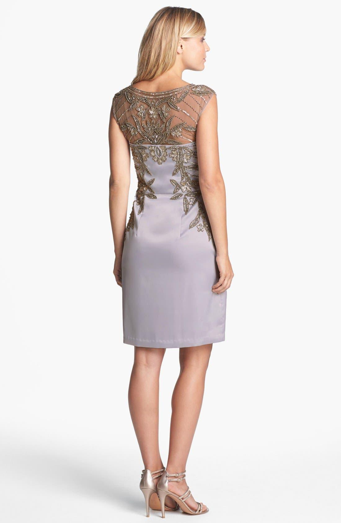 Alternate Image 2  - Sue Wong Embellished Sheath Dress