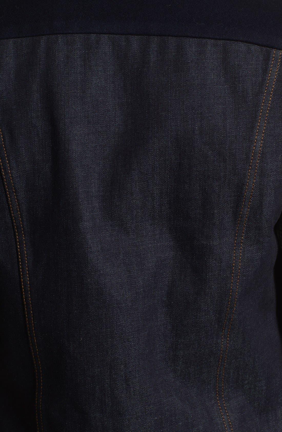 Alternate Image 3  - AMI Alexandre Mattiussi Denim Vest
