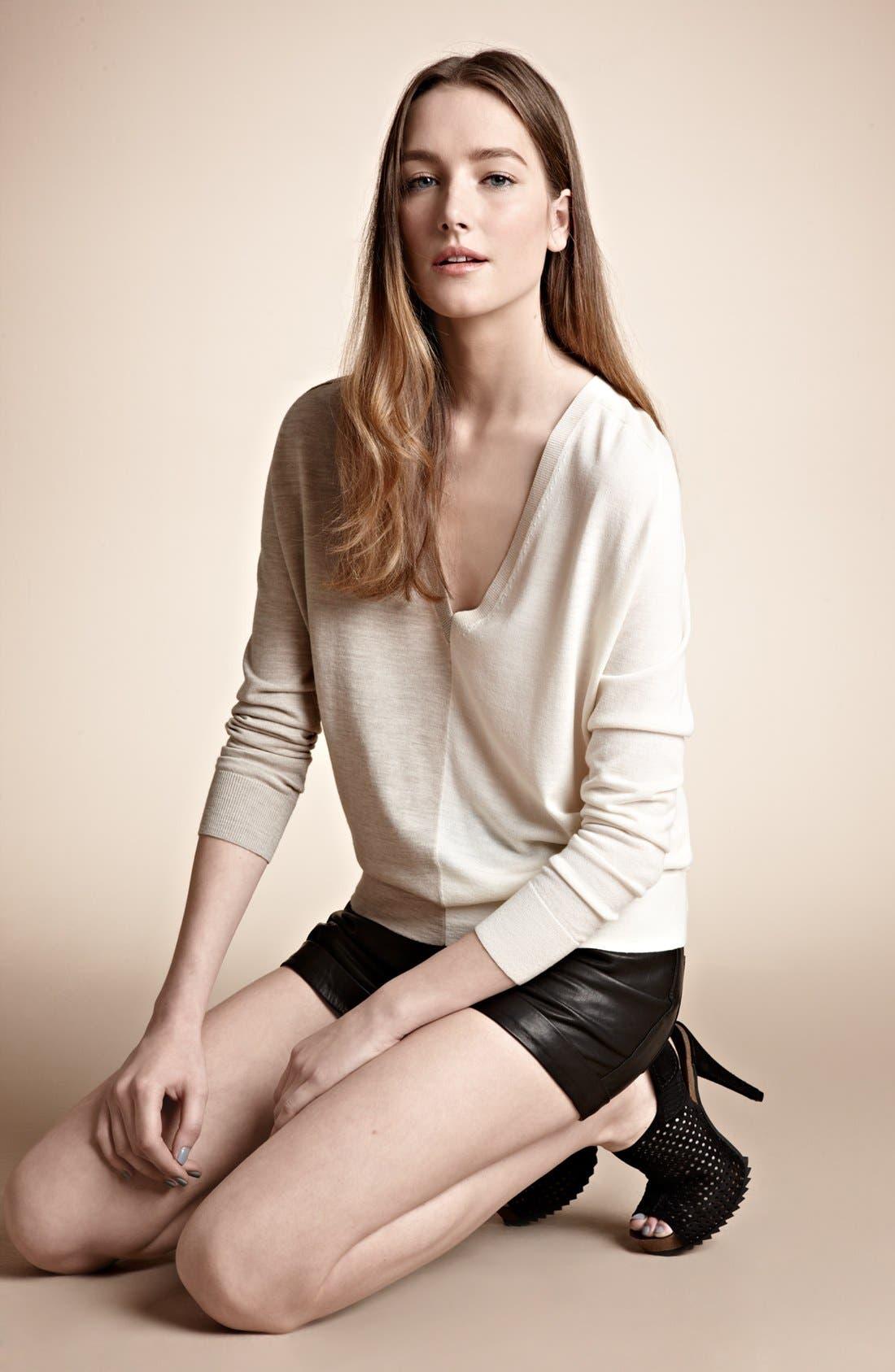 Alternate Image 5  - Theory 'Adrianna C.B.' Merino Wool Sweater