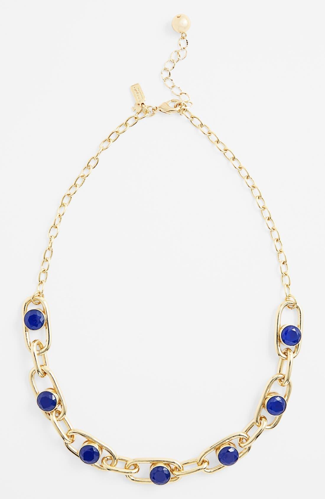 Alternate Image 2  - kate spade new york 'get rolling' short link necklace