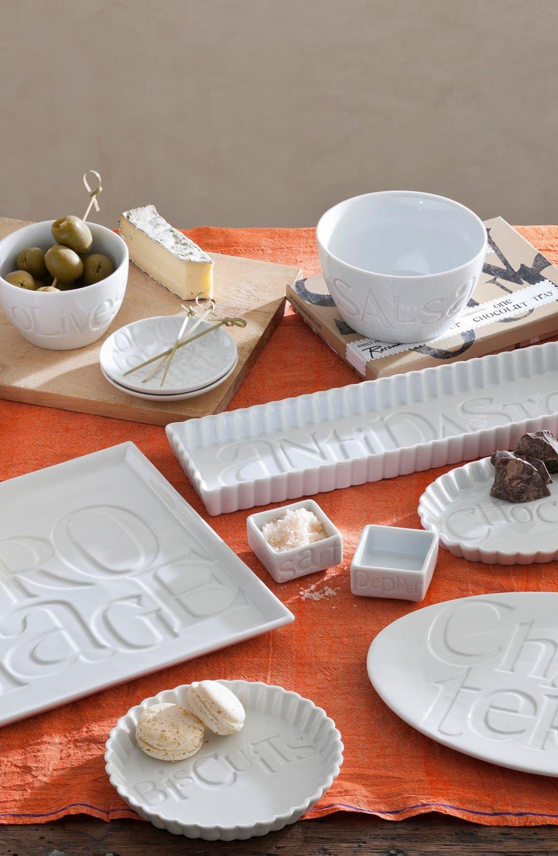 Alternate Image 3  - Rosanna 'Savour - Charcuterie' Porcelain Tray