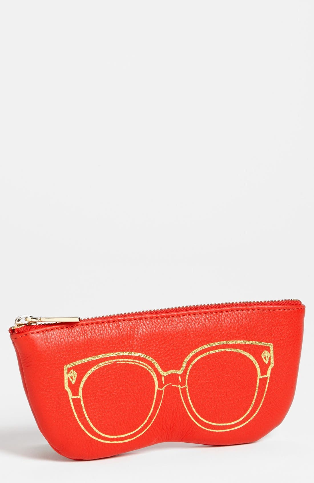Main Image - Rebecca Minkoff Leather Sunglasses Case