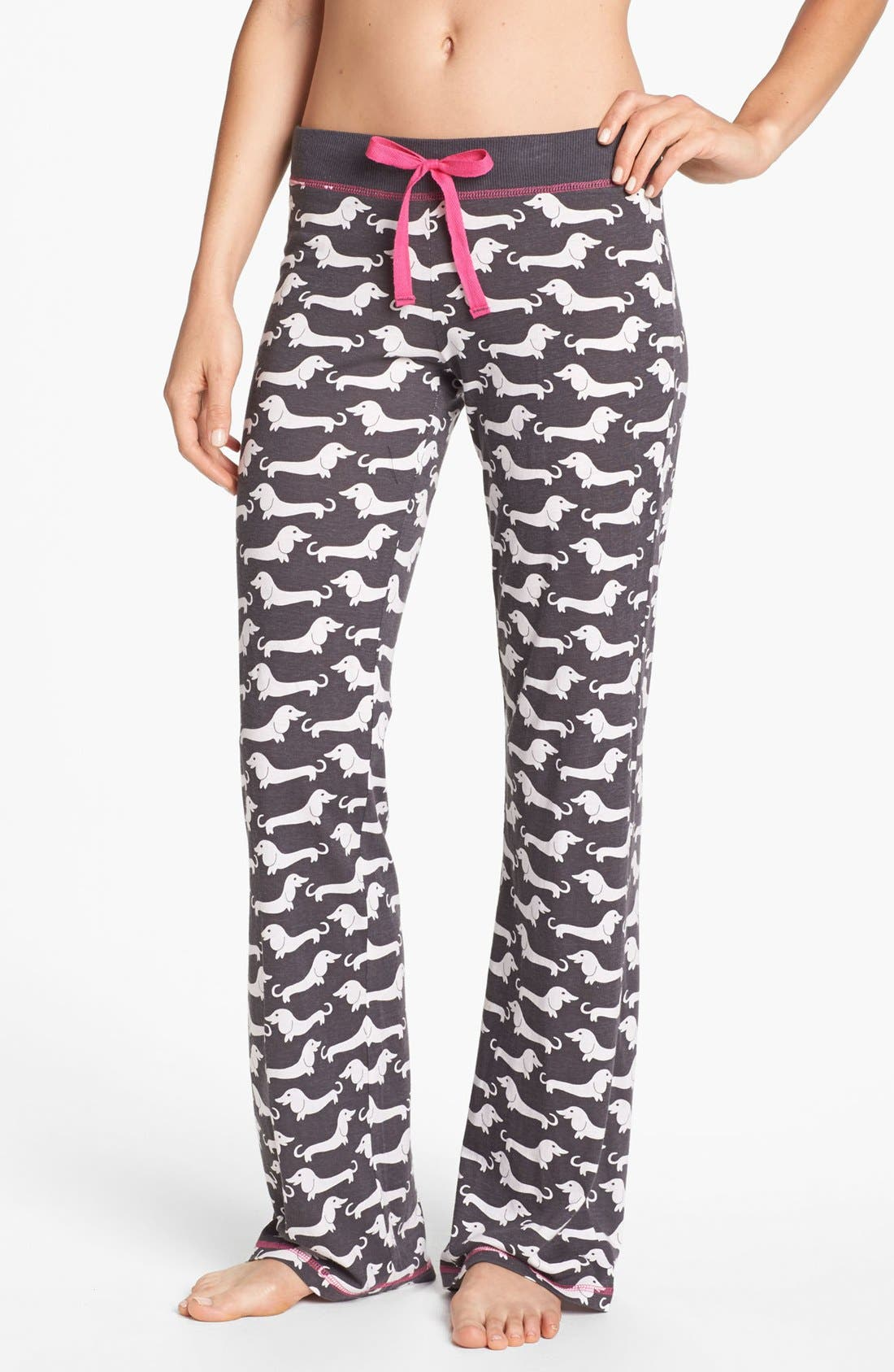 Alternate Image 1 Selected - COZY ZOE Knit Lounge Pants