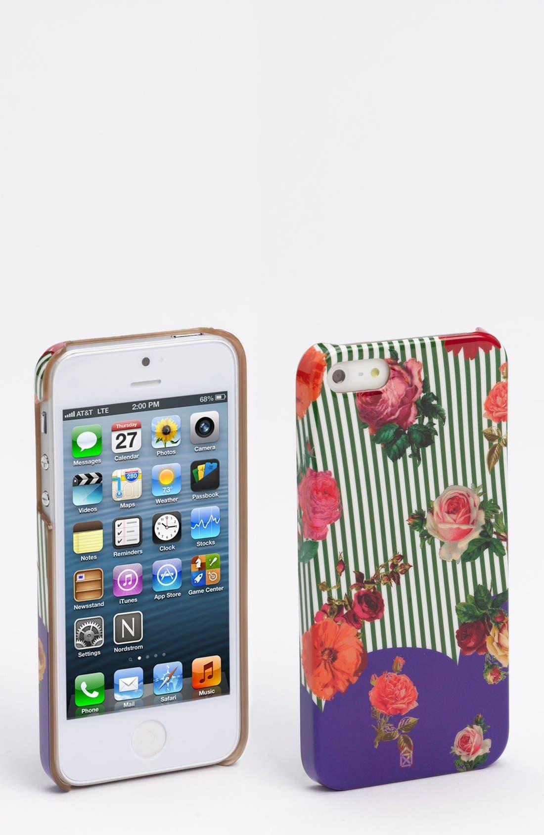 Alternate Image 1 Selected - Case Scenario 'Flowers' iPhone 5 Case