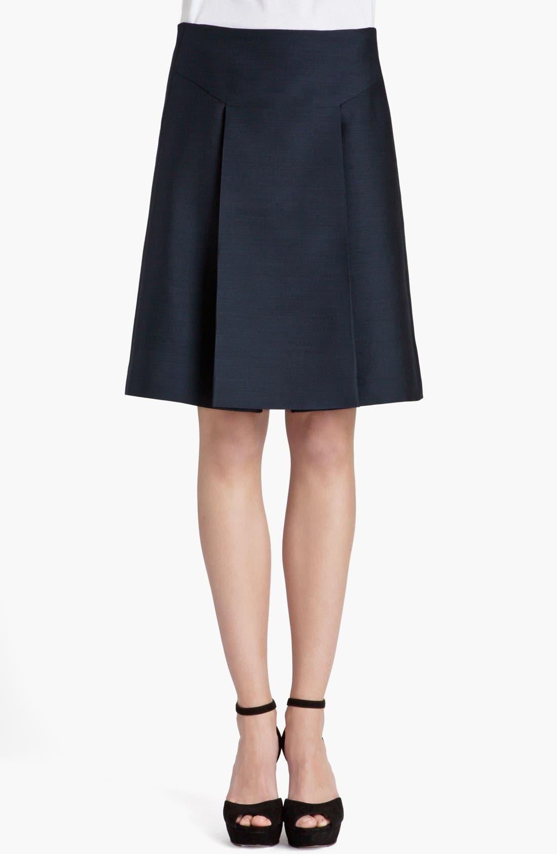 Main Image - Marni Front Pleat Organza Skirt