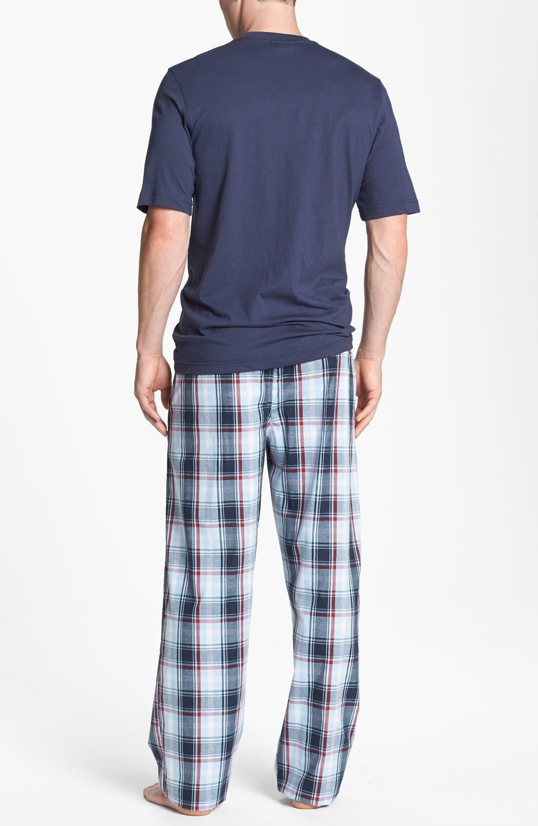 Alternate Image 2  - Majestic International Cotton Pajamas