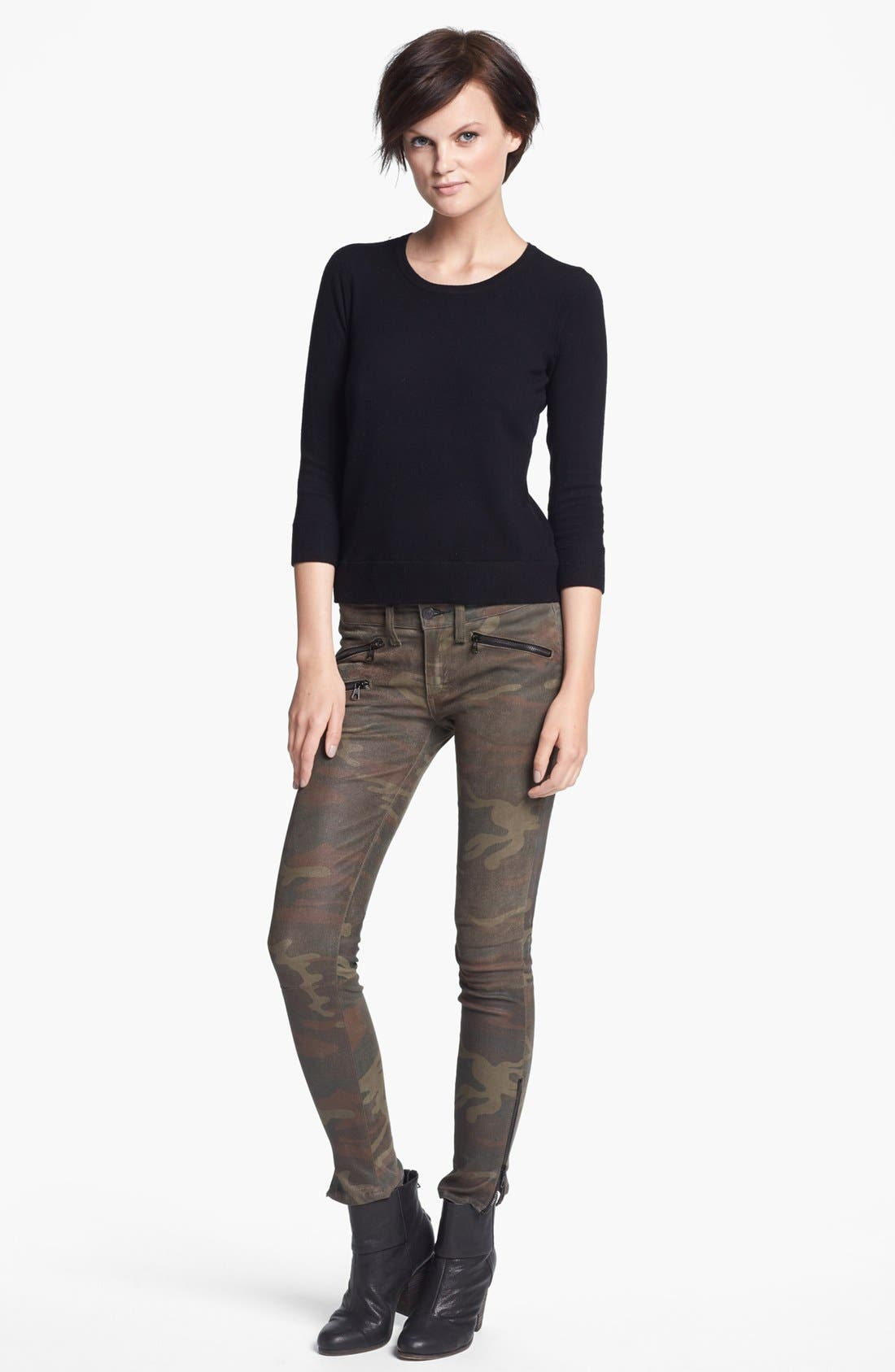 Main Image - rag & bone/JEAN 'Natalie' Crewneck Sweater