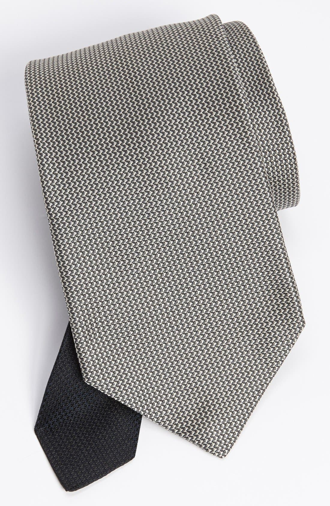 Main Image - John W. Nordstrom® Woven Silk Tie (Tall)