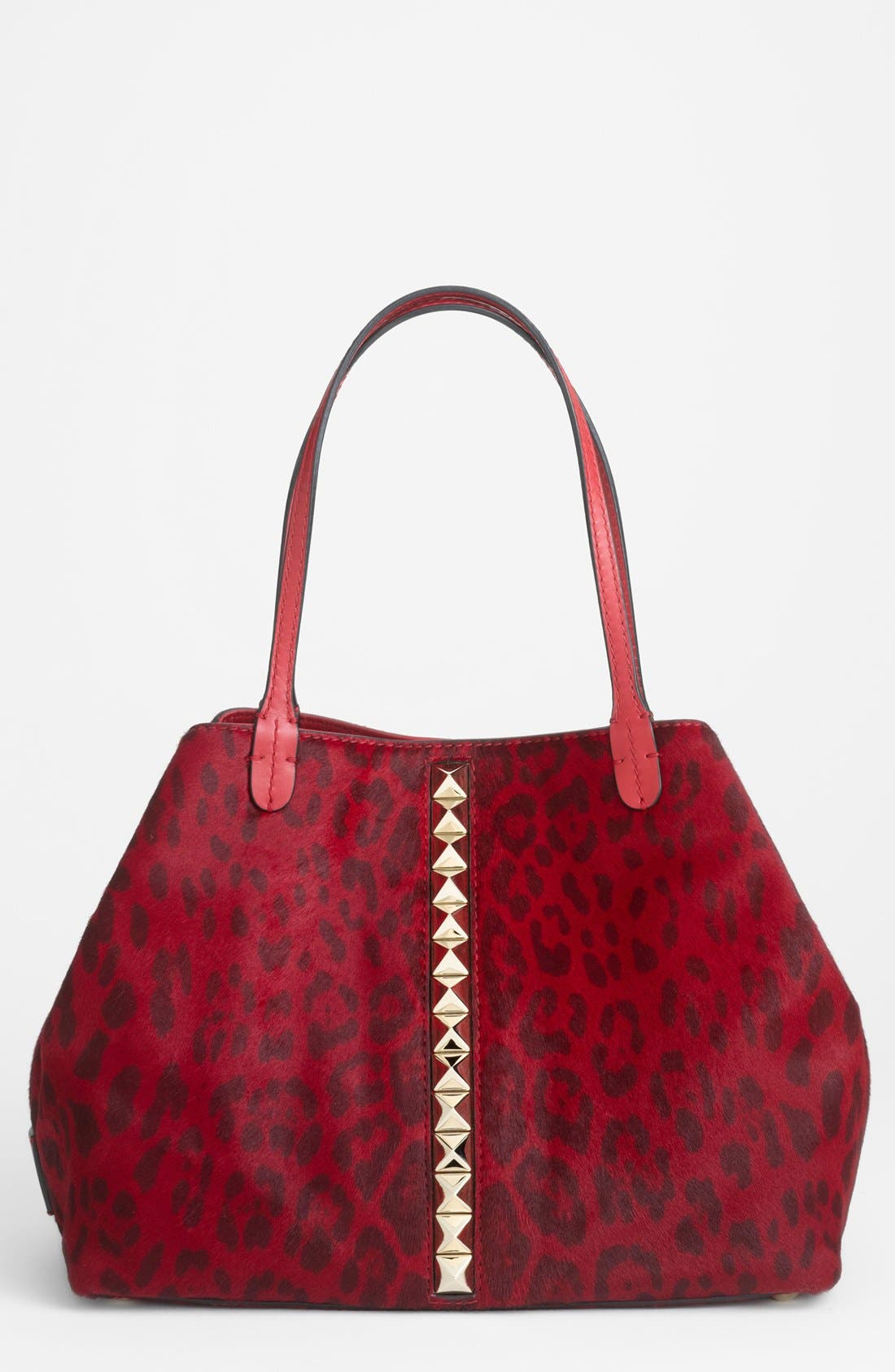 Main Image - Valentino 'Cavallino - Medium' Calf Hair Tote