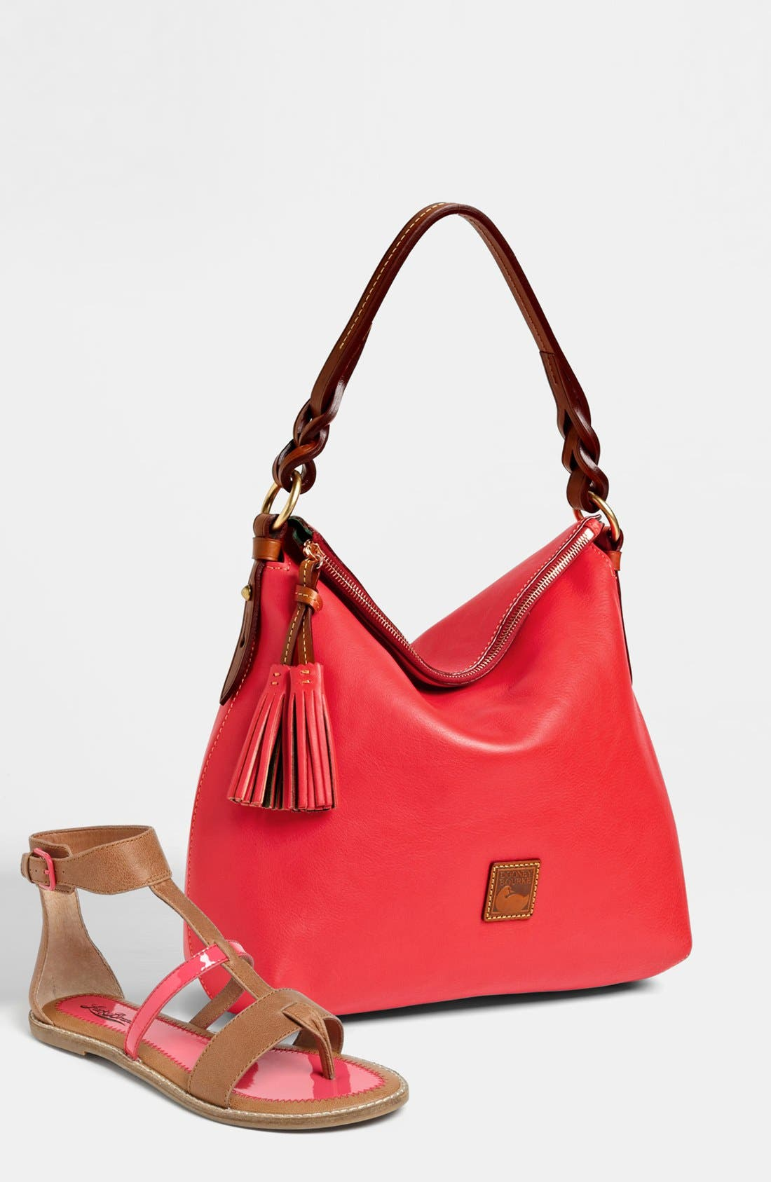 Alternate Image 5  - Dooney & Bourke 'Twist Strap' Hobo, Large