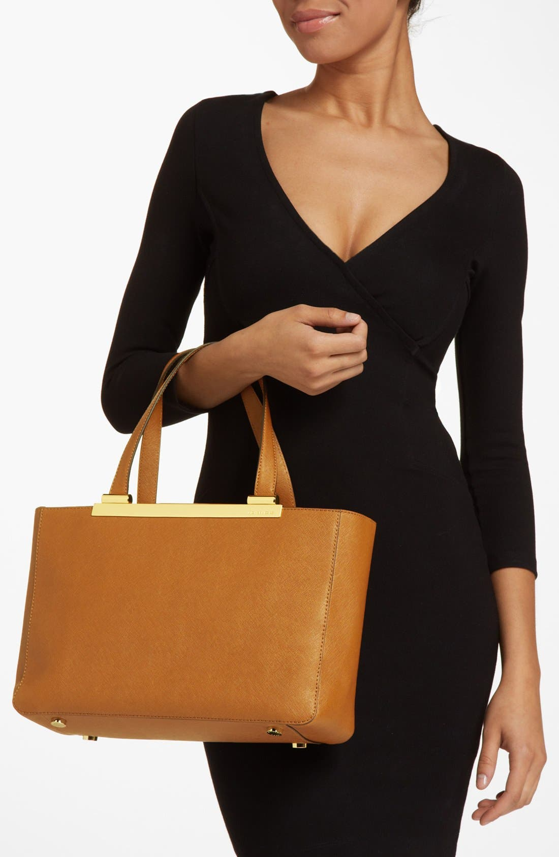 Alternate Image 2  - MICHAEL Michael Kors 'Tilda - Large' Saffiano Leather Tote (Online Only)