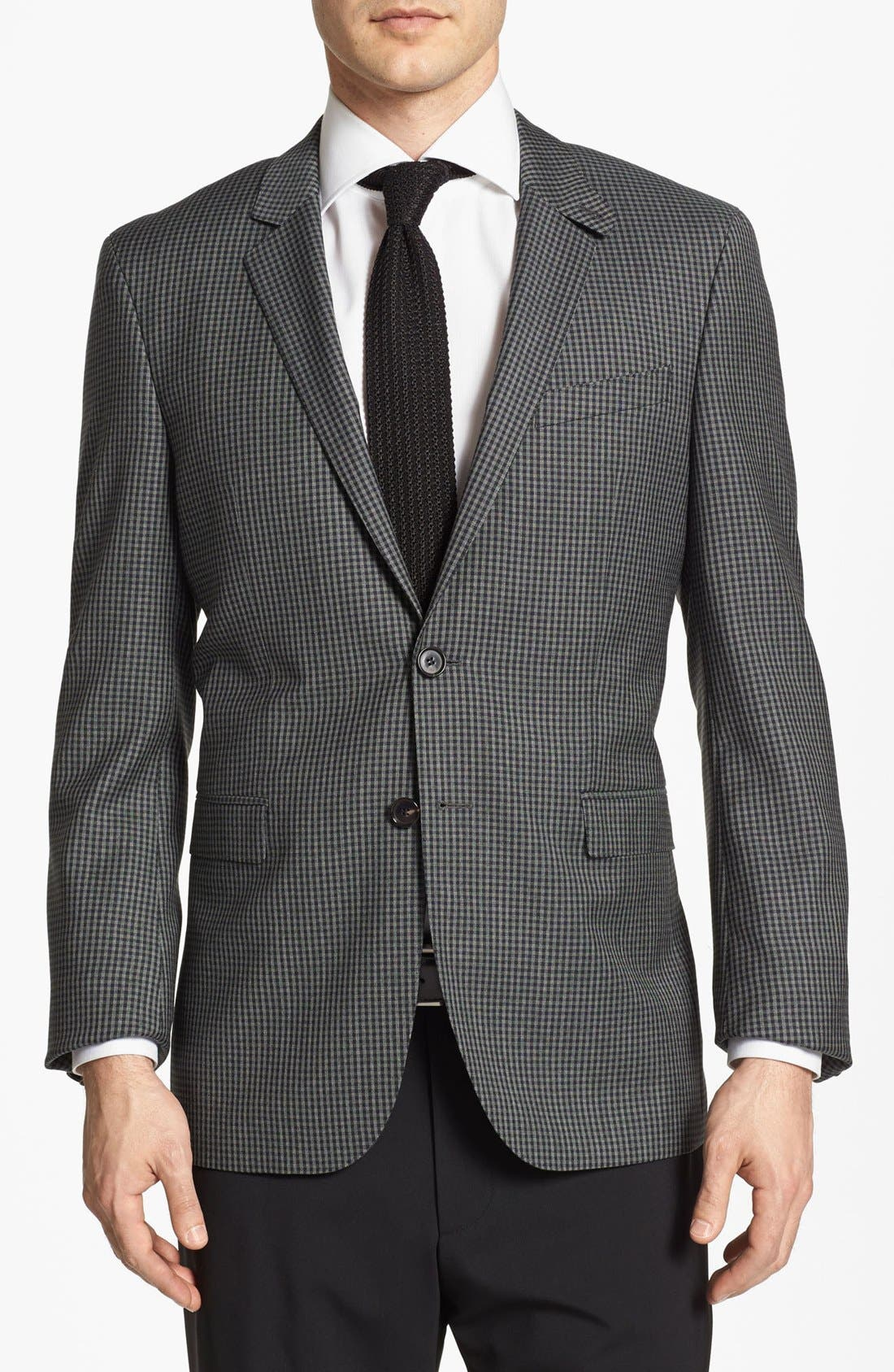 Alternate Image 1 Selected - BOSS HUGO BOSS 'Rhett' Extra Trim Fit Sportcoat