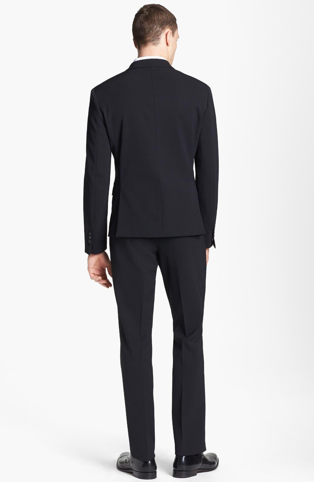 Alternate Image 3  - Neil Barrett Stretch Gabardine Suit