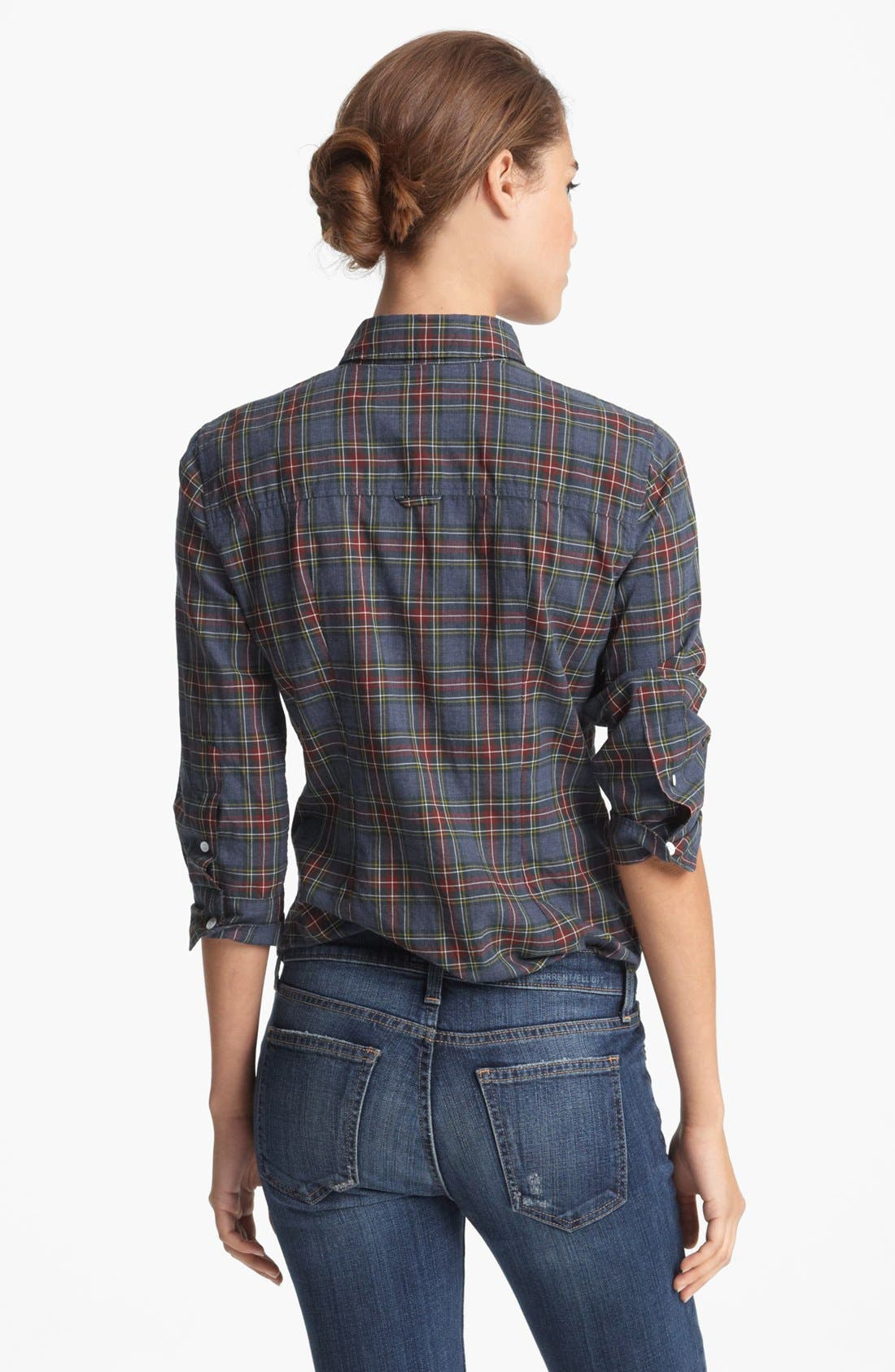 Alternate Image 2  - Band of Outsiders Plaid Shirt