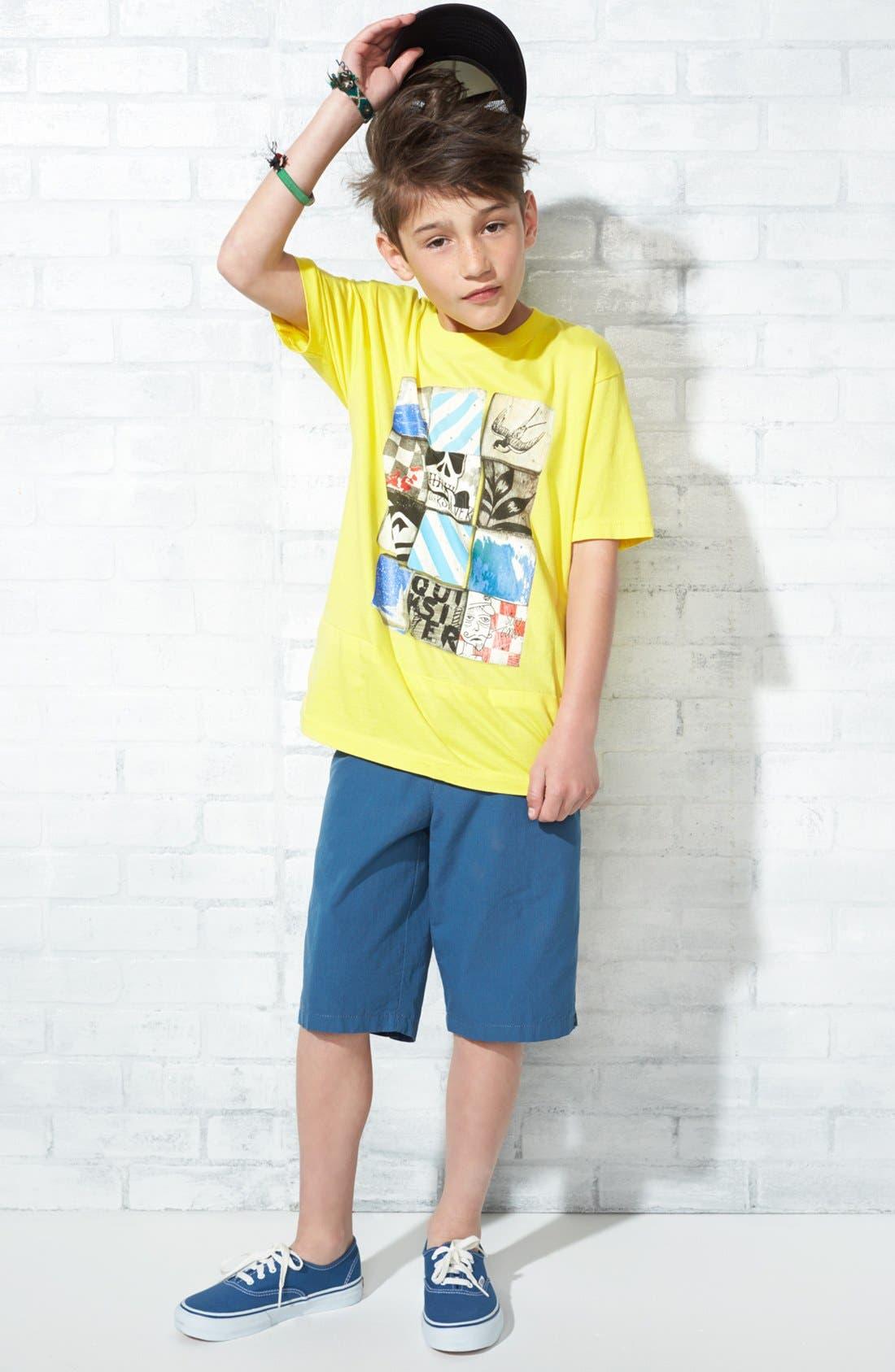 Alternate Image 3  - Quiksilver 'Nugget' Shorts (Big Boys)