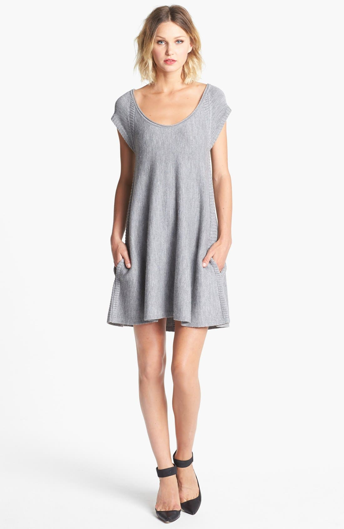 Alternate Image 1  - French Connection Trapeze Wool Sweater Dress