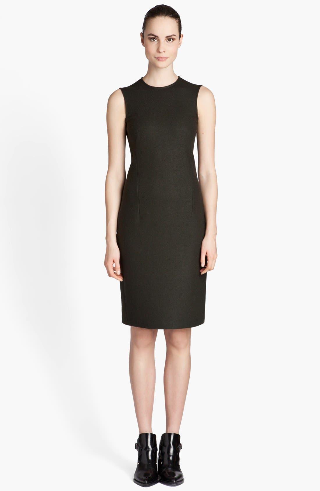 Alternate Image 1 Selected - Jil Sander Sleeveless Wool Jersey Dress