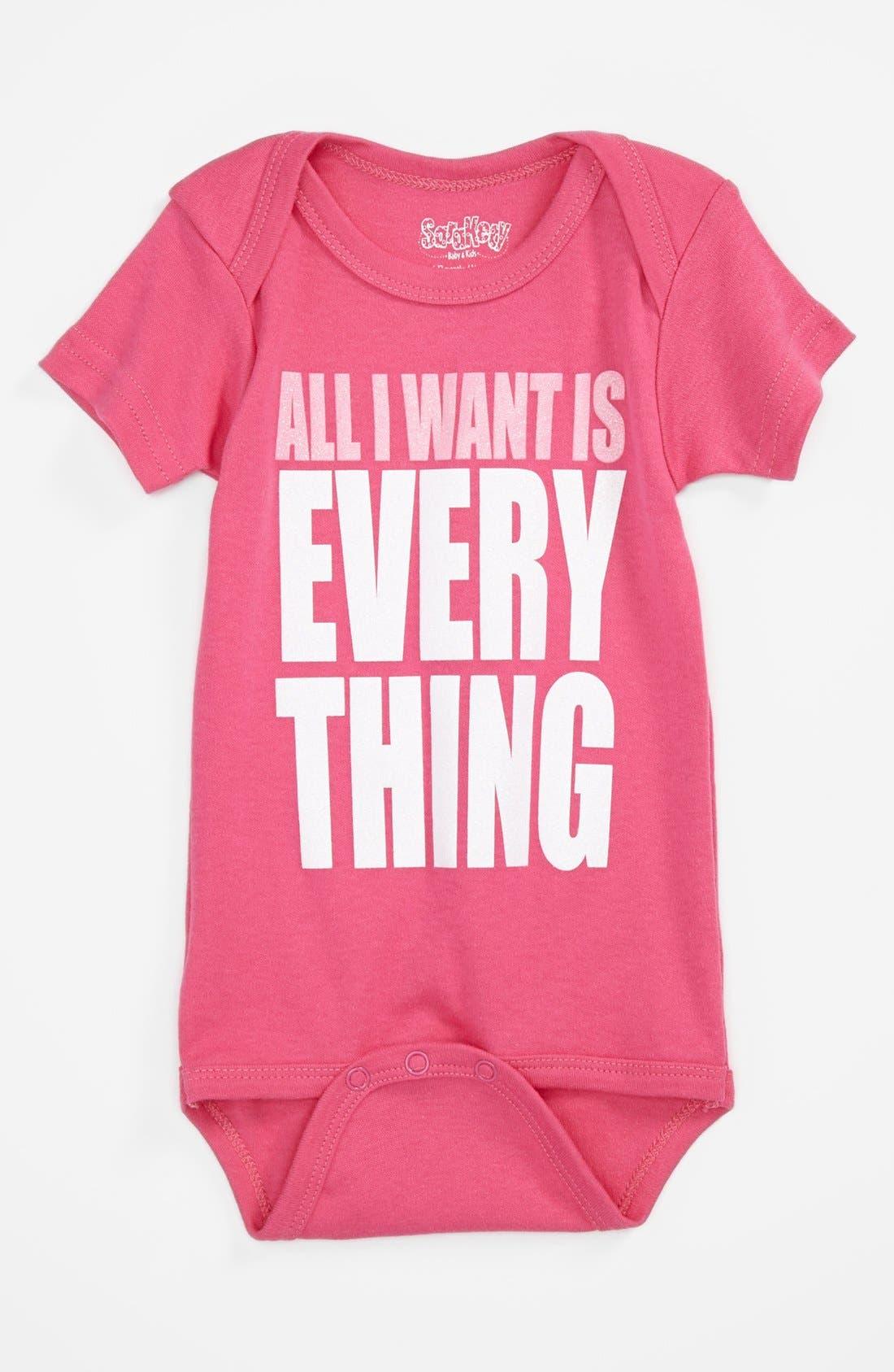 Alternate Image 1 Selected - Sara Kety Baby & Kids Bodysuit (Baby Girls)