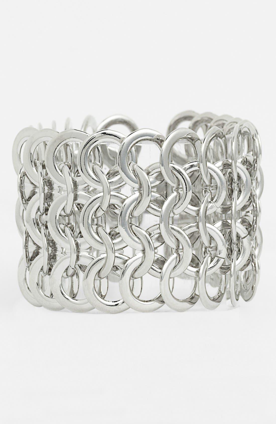 Alternate Image 1 Selected - Natasha Couture 'Multi Circle' Bracelet