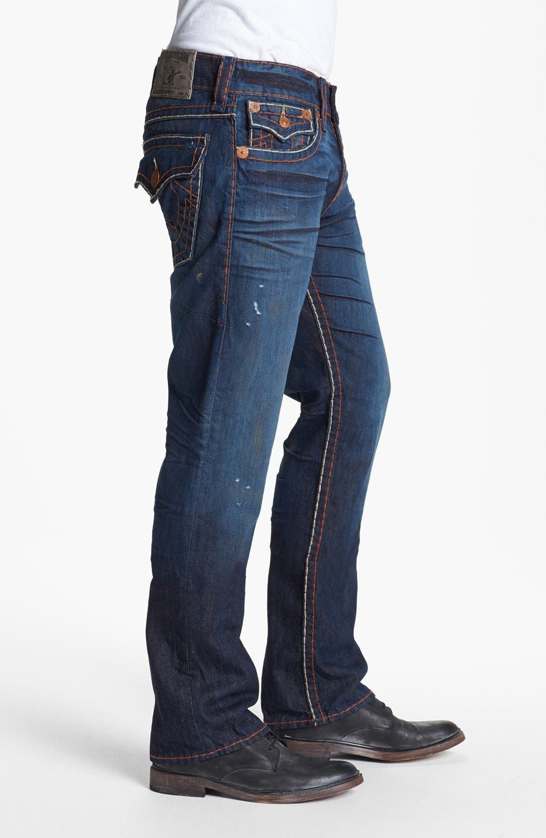 Alternate Image 3  - True Religion Brand Jeans 'Ricky' Straight Leg Jeans (Hideout)