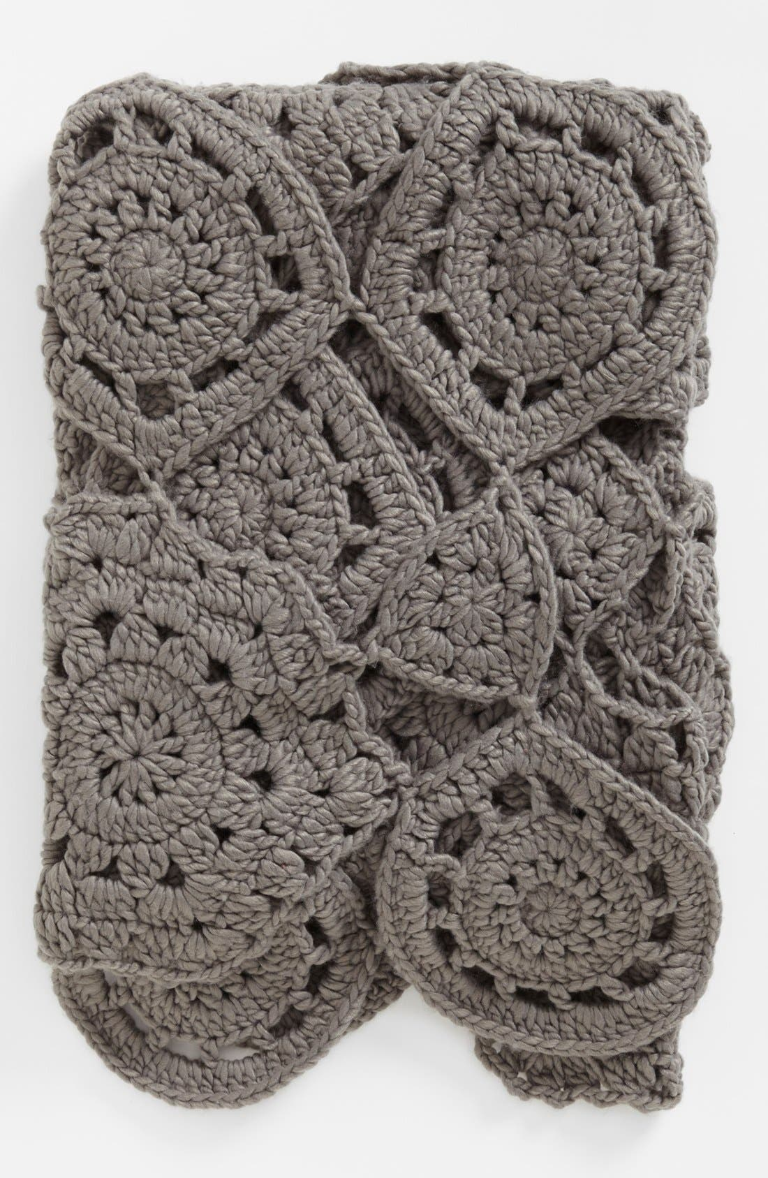 Alternate Image 1 Selected - Nordstrom at Home 'Astor' Hand Crocheted Throw
