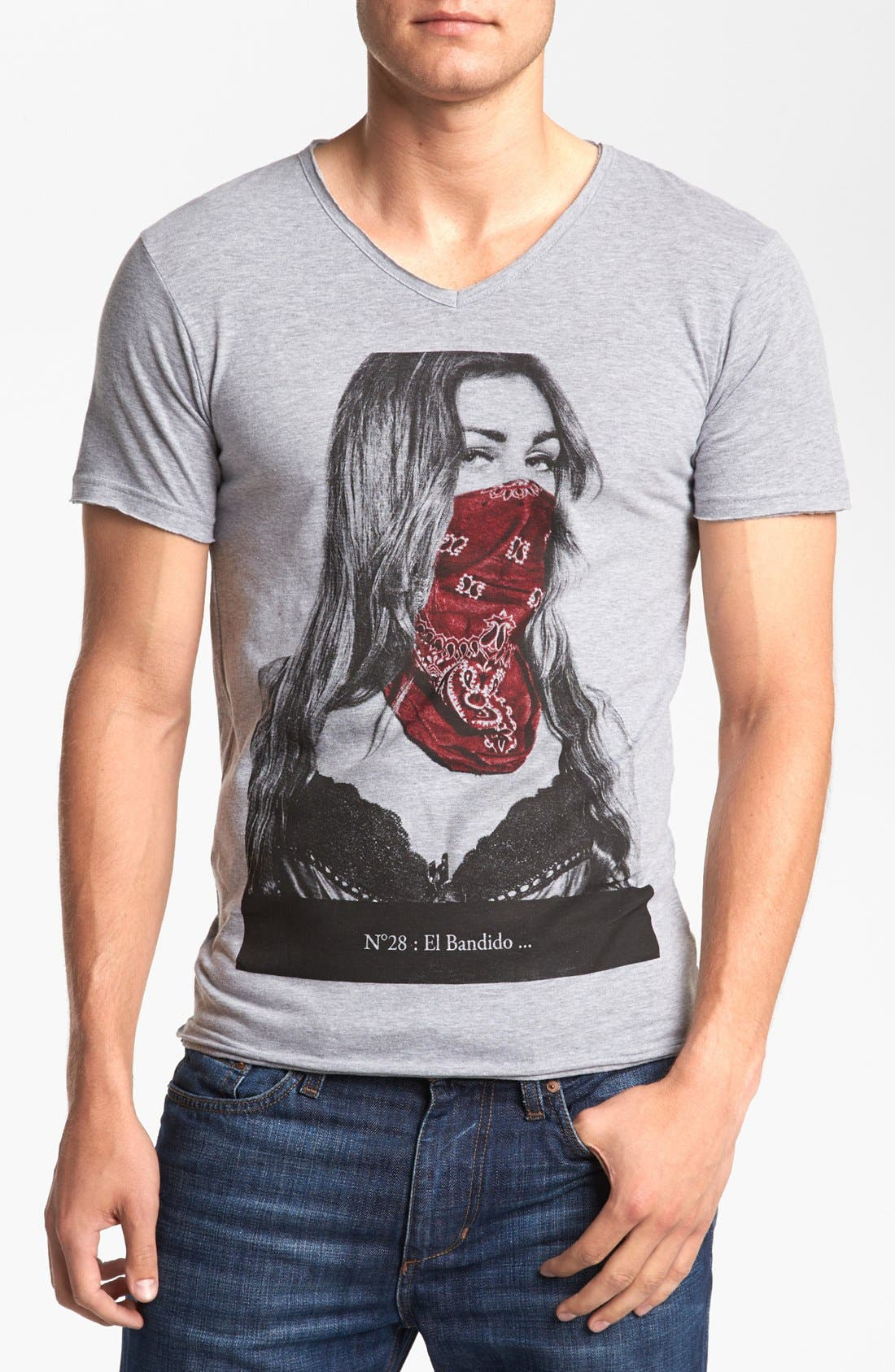 Alternate Image 1 Selected - ELEVENPARIS 'El Bandito' V-Neck T-Shirt