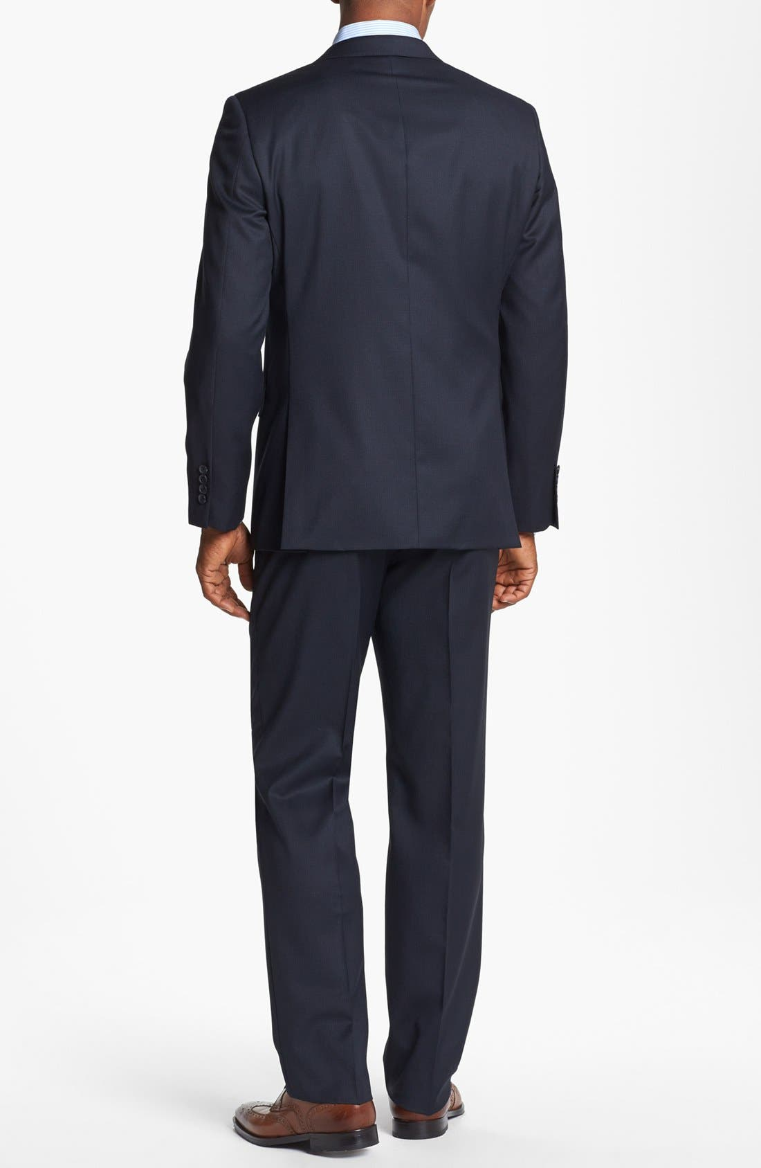 Alternate Image 3  - John W. Nordstrom® Classic Fit Check Wool Suit