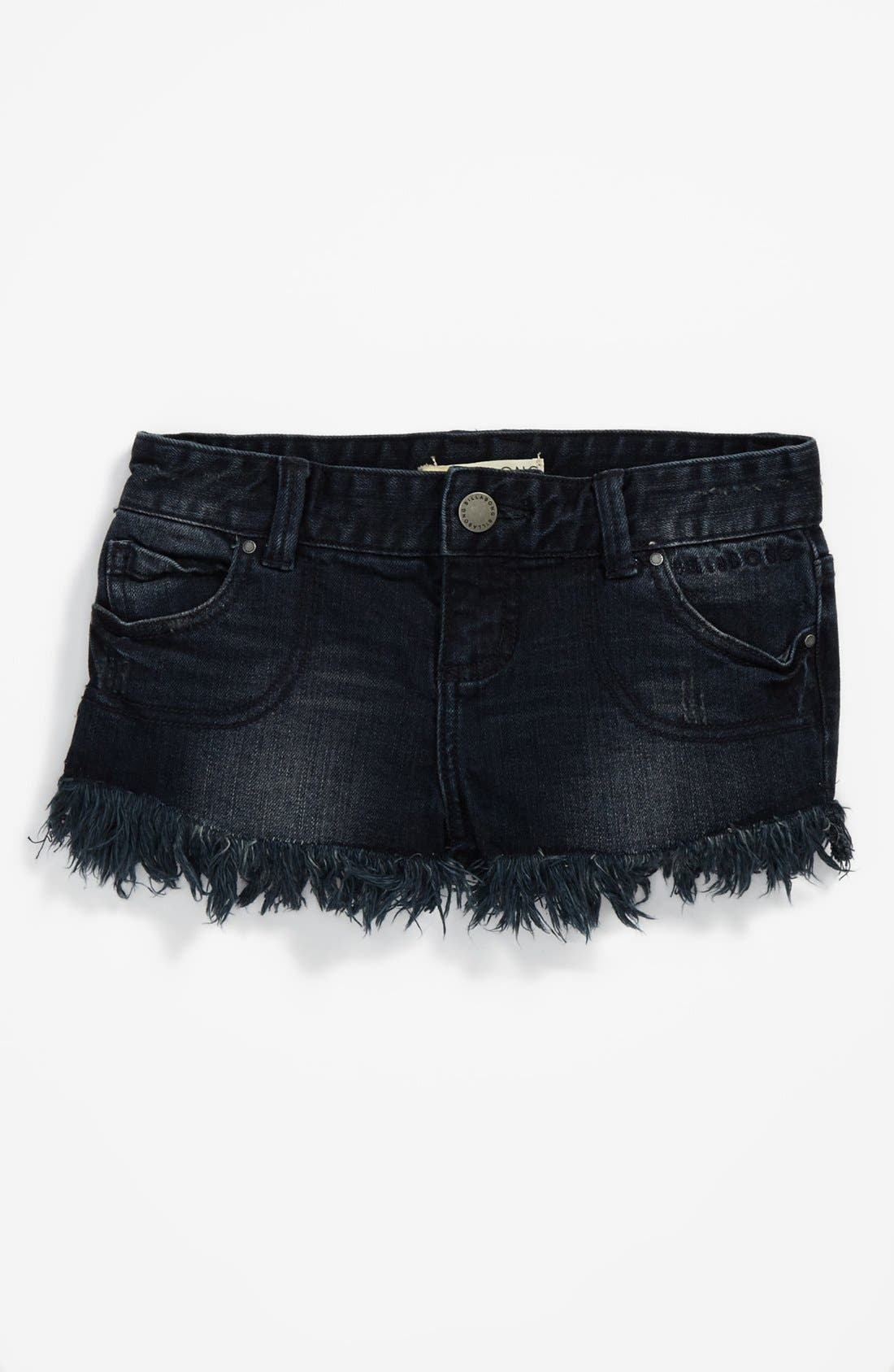 Alternate Image 2  - Billabong 'Beach Out' Denim Shorts (Big Girls)