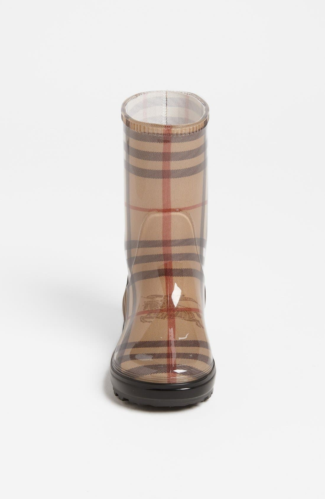 Alternate Image 3  - Burberry 'Niles' Rain Boot (Walker, Toddler, Little Kid & Big Kid)