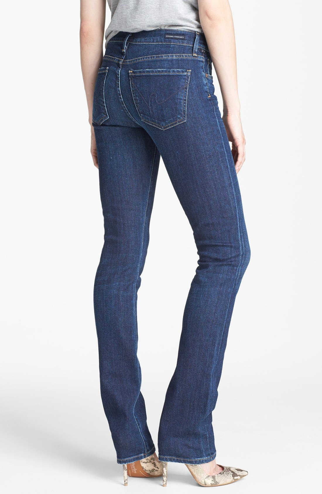 Alternate Image 2  - Citizens of Humanity 'Elson' Mid Rise Straight Leg Jeans (Element)