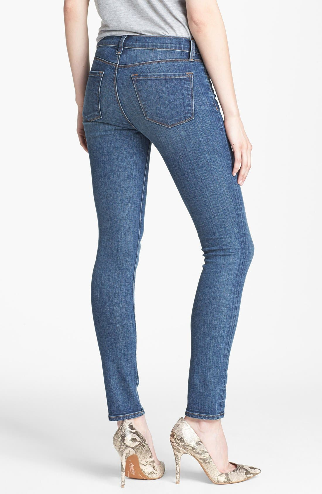 Alternate Image 2  - J Brand '811' Skinny Stretch Jeans (Skylar)