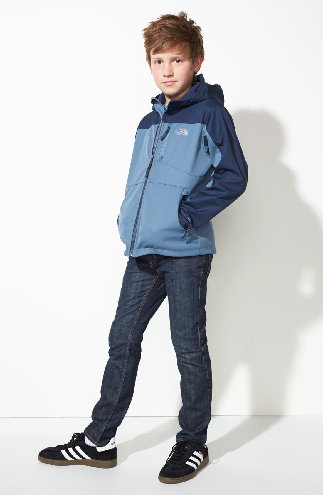 Alternate Image 1 Selected - The North Face Jacket & Joe's Jeans (Big Boys)