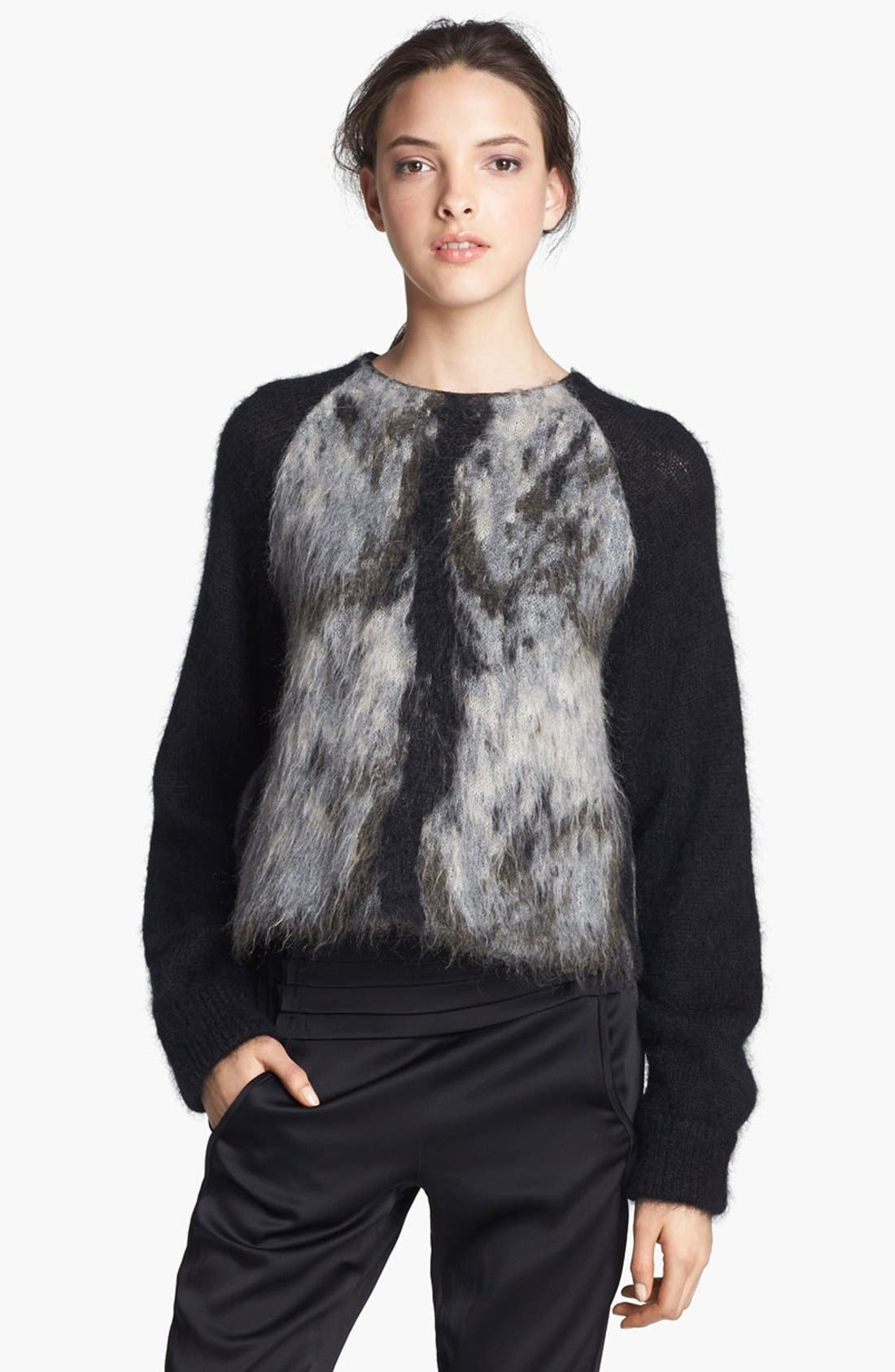 Alternate Image 1 Selected - Alexander Wang Fuzzy Sweater